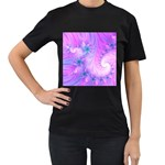 Delicate Women s T-Shirt (Black)