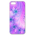 Delicate Apple Seamless iPhone 5 Case (Clear)