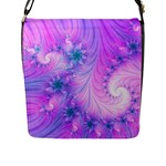 Delicate Flap Messenger Bag (L)