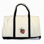 Lady Bug Two Tone Tote Bag