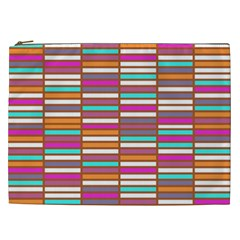 Color Grid 02 Cosmetic Bag (xxl)  by jumpercat