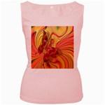 Arrangement Butterfly Aesthetics Women s Pink Tank Top