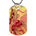 Arrangement Butterfly Aesthetics Dog Tag (One Side)