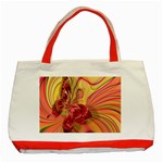 Arrangement Butterfly Aesthetics Classic Tote Bag (Red)
