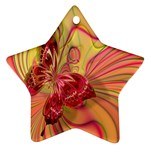 Arrangement Butterfly Aesthetics Star Ornament (Two Sides)