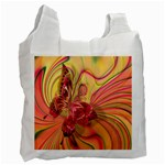 Arrangement Butterfly Aesthetics Recycle Bag (Two Side)