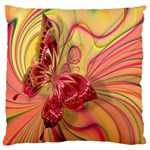 Arrangement Butterfly Aesthetics Large Cushion Case (Two Sides)