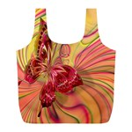Arrangement Butterfly Aesthetics Full Print Recycle Bags (L)