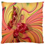 Arrangement Butterfly Aesthetics Large Flano Cushion Case (Two Sides)