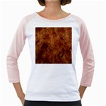 Abstract Flames Fire Hot Girly Raglans