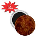 Abstract Flames Fire Hot 1.75  Magnets (10 pack)