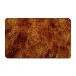 Abstract Flames Fire Hot Magnet (Rectangular)