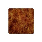 Abstract Flames Fire Hot Square Magnet