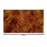 Abstract Flames Fire Hot Business Card Holders