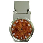 Abstract Flames Fire Hot Money Clip Watches