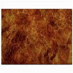 Abstract Flames Fire Hot Jewelry Bags