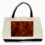 Abstract Flames Fire Hot Basic Tote Bag