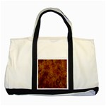 Abstract Flames Fire Hot Two Tone Tote Bag
