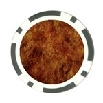 Abstract Flames Fire Hot Poker Chip Card Guard