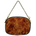 Abstract Flames Fire Hot Chain Purses (One Side)