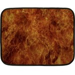 Abstract Flames Fire Hot Double Sided Fleece Blanket (Mini)