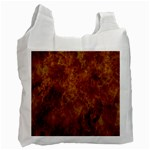 Abstract Flames Fire Hot Recycle Bag (Two Side)
