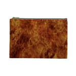 Abstract Flames Fire Hot Cosmetic Bag (Large)