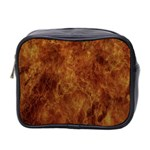 Abstract Flames Fire Hot Mini Toiletries Bag 2-Side