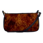 Abstract Flames Fire Hot Shoulder Clutch Bags