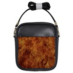 Abstract Flames Fire Hot Girls Sling Bags