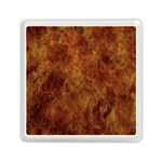 Abstract Flames Fire Hot Memory Card Reader (Square)