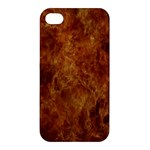 Abstract Flames Fire Hot Apple iPhone 4/4S Hardshell Case