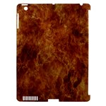 Abstract Flames Fire Hot Apple iPad 3/4 Hardshell Case (Compatible with Smart Cover)