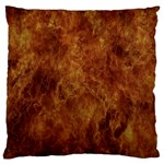 Abstract Flames Fire Hot Large Cushion Case (Two Sides)