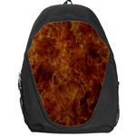 Abstract Flames Fire Hot Backpack Bag