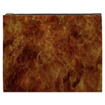 Abstract Flames Fire Hot Cosmetic Bag (XXXL)