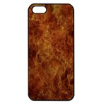 Abstract Flames Fire Hot Apple iPhone 5 Seamless Case (Black)