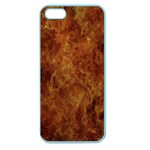 Abstract Flames Fire Hot Apple Seamless iPhone 5 Case (Color)
