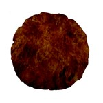 Abstract Flames Fire Hot Standard 15  Premium Round Cushions
