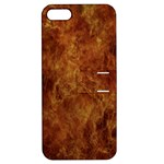 Abstract Flames Fire Hot Apple iPhone 5 Hardshell Case with Stand