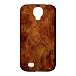 Abstract Flames Fire Hot Samsung Galaxy S4 Classic Hardshell Case (PC+Silicone)