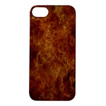 Abstract Flames Fire Hot Apple iPhone 5S/ SE Hardshell Case