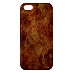 Abstract Flames Fire Hot iPhone 5S/ SE Premium Hardshell Case
