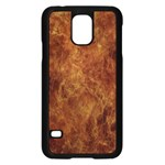 Abstract Flames Fire Hot Samsung Galaxy S5 Case (Black)