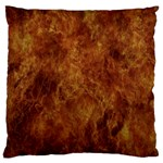 Abstract Flames Fire Hot Standard Flano Cushion Case (One Side)