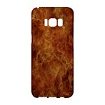 Abstract Flames Fire Hot Samsung Galaxy S8 Hardshell Case