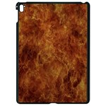 Abstract Flames Fire Hot Apple iPad Pro 9.7   Black Seamless Case