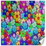 Flowers Ornament Decoration Canvas 16  x 16
