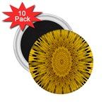 Pattern Petals Pipes Plants 2.25  Magnets (10 pack)