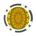 Pattern Petals Pipes Plants Poker Chip Card Guard (10 pack)
